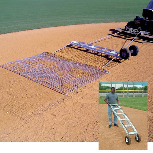 Baseball Tractor Drag : Baseball softball field diamond digger groomer w