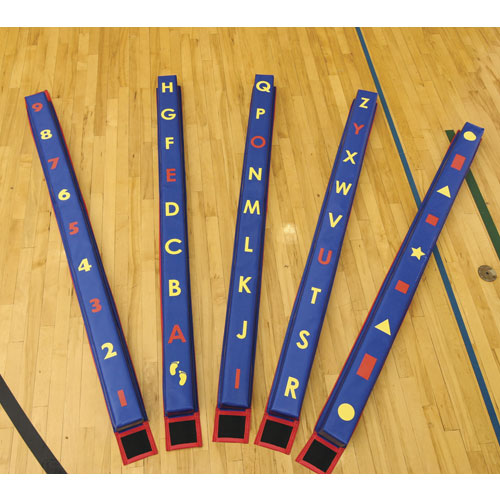 P E Balance Educational Balance Beams Abc Set